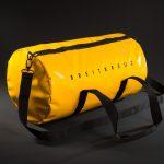 Breitkreuz Sporttasche aus gelber Plane