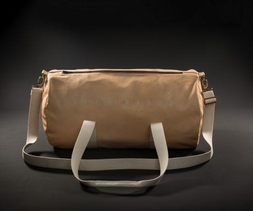 Breitkreuz Sporttasche aus Natur Leder