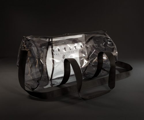 Breitkreuz Sporttasche aus transparenter Plane
