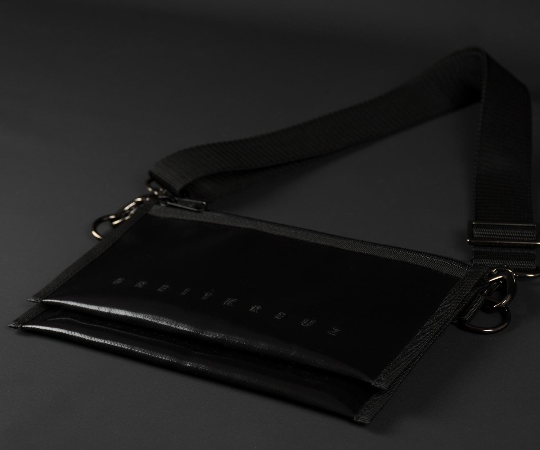 Breitkreuz Brusttasche Plane Schwarz