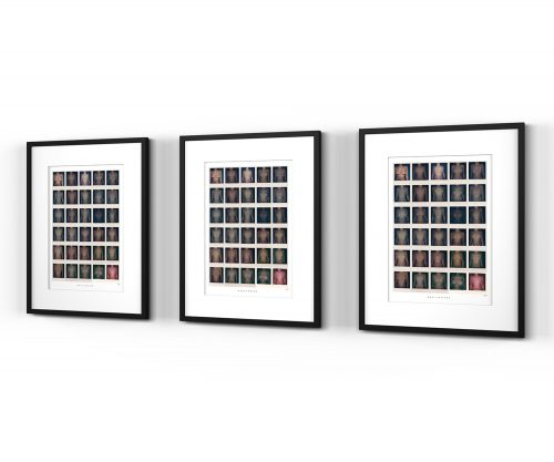 Breitkreuz Polaroid-Kunstdruck Boobs
