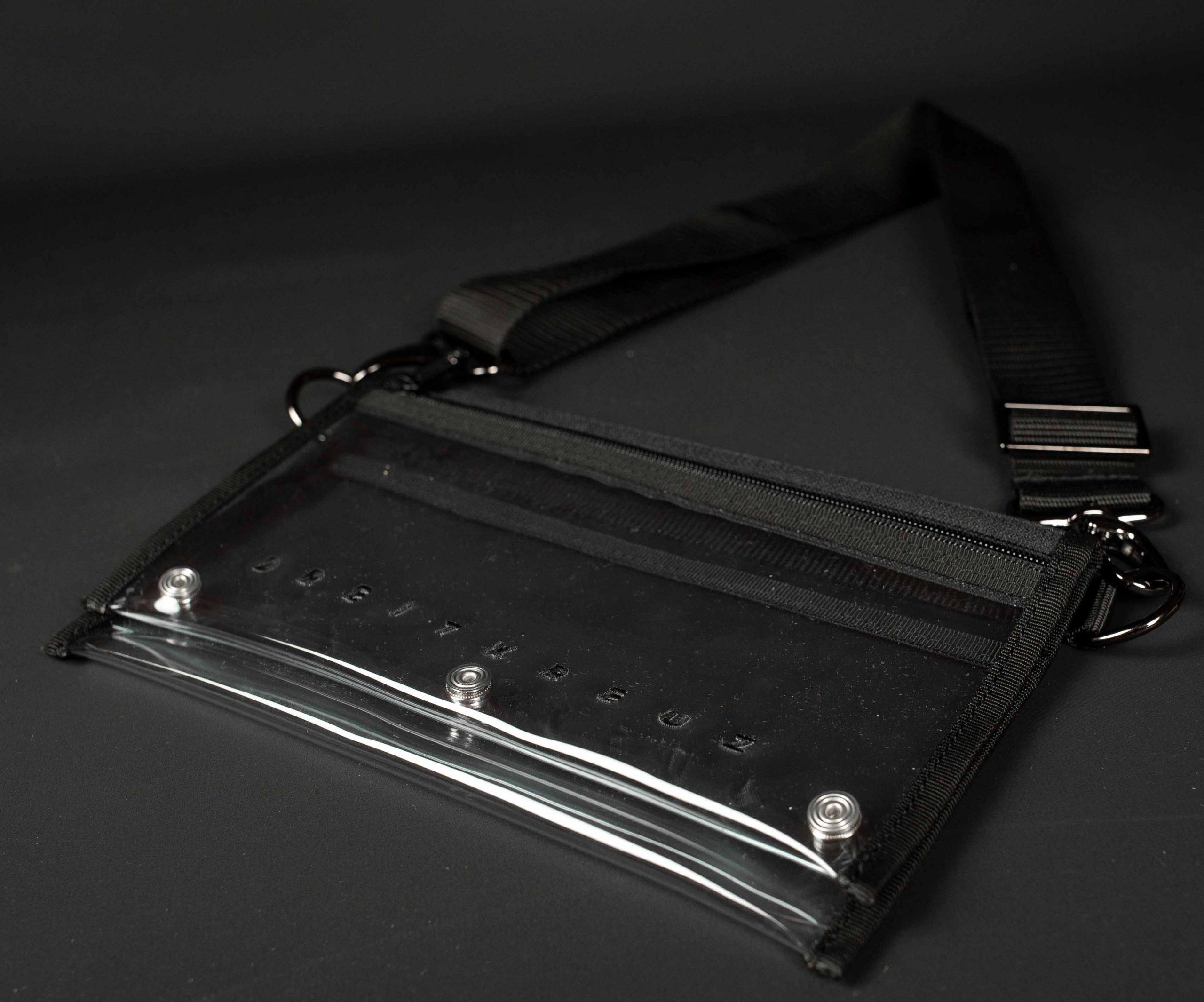 Transparente Brusttasche Bauchtasche